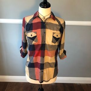 Papertee Checkered button up